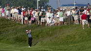 Senior PGA: No. 7 plays hard to get in first round