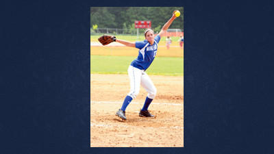 Windber pitcher Kayla Kormanik delivers a pitch in the fifth inning of Thursday's District 5 Class AA semifinal playoff softball game against Everett.