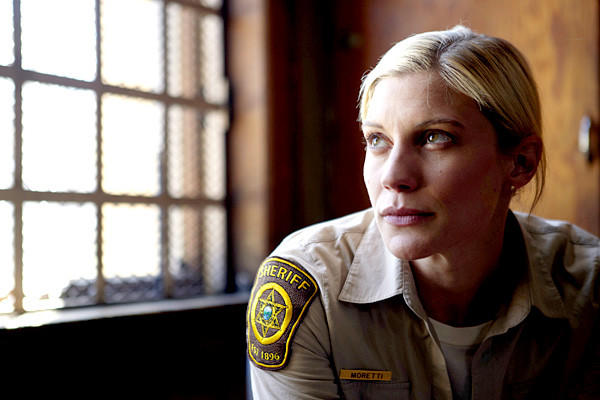 "Robert Taylor is a rural Wyoming sheriff getting his focus back after the death of his wife ¿ and when has that ever happened in a police drama? ¿ in a good-looking series based on Craig Johnson's novels. Katee ""Starbuck"" Sackhoff is his deputy; Lou Diamond Phillips runs the bar."