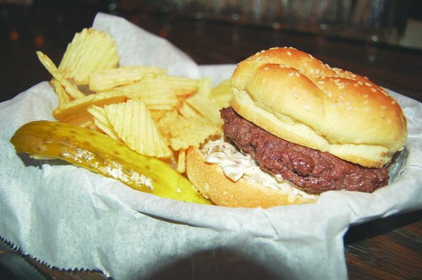 Side Door Saloon in Petoskey is known for its olive burgers.