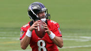 Painter enjoying time with Flacco, Taylor so far