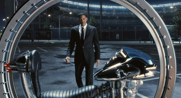 "Will Smith has donned the black suit once again for ""Men in Black 3."""