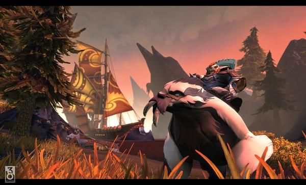 A screenshot from 38 Studios' MMORPG that was in development when the company abruptly shuttered its doors on Thursday.