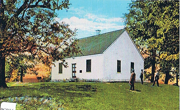 The Washington County Historical Society obtained the deed to the Dunker Church at Antietam National Battlefield in 1951.