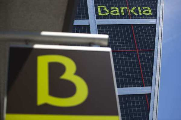Bankia was among the five banks downgraded by S&P on Friday