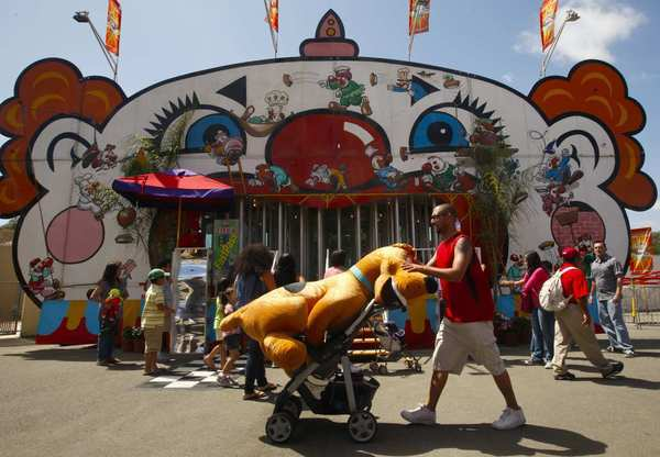"The fair's selection of fried foods should be enough to lure you, but if you desire more, you'll also find rides, games, exhibits, shopping, demolition derbies, rodeos and live entertainment. Performers this year include <a class=""taxInlineTagLink"" id=""PECLB0040094486"" title=""Adam Lambert"" href=""/topic/entertainment/music/adam-lambert-PECLB0040094486.topic"">Adam Lambert,</a> Dead Man's Party and Mariachi Sol De Mexico De <a class=""taxInlineTagLink"" id=""PESPT003186"" title=""Jose Hernandez"" href=""/topic/sports/jose-hernandez-PESPT003186.topic"">Jose Hernandez</a>.<br> <br>  Cost: $12 for general admission<br> <br>  Dates: Wednesdays to Sundays, July 13-Aug. 12<br> <br>  Contact info: 88 Fair Drive, Costa Mesa; <a href=""http://ocfair.com/2012/index.asp"">http://ocfair.com/2012/index.asp</a><br> <br>  Categories: Shopping, Eating, Kids, Entertainment, Arts & Culture<br> <br>  —J.L."