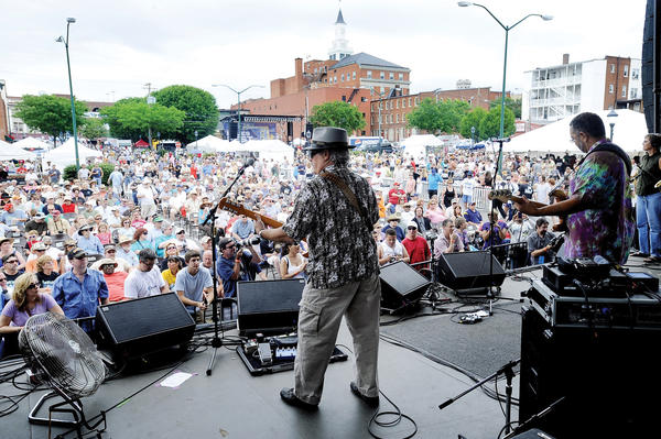 Western Maryland Blues Fest begins Thursday, May 31, in Hagerstown.