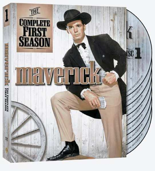 Maverick: The Complete First Season on DVD.