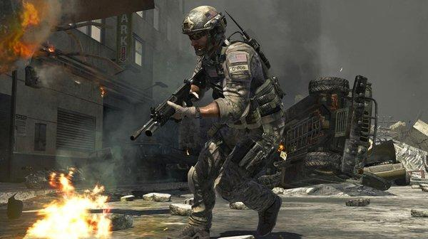 A screenshot from Call of Duty: Modern Warfare 3, the eighth game in the series.