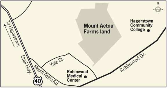 Mount Aetna Farms land