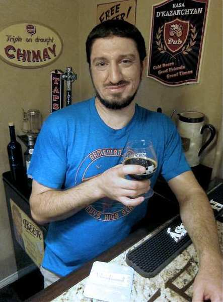 Gevork Kazanchyan is spearheading a collaborative Armenian coffee beer called System of a Stout.