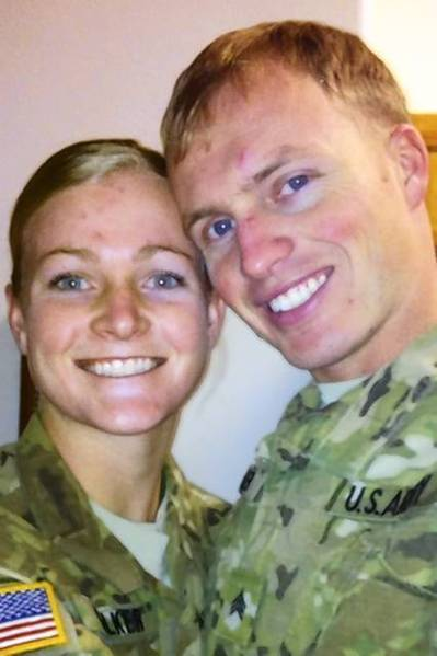 """He treated me so amazing,"" Ashley Walker said of her husband, Brian. ""We had a love I never thought was possible, you know?"""