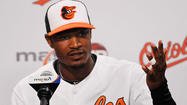 The Orioles made Adam Jones' six-year, $85.5 million deal official Sunday with a morning news conference.