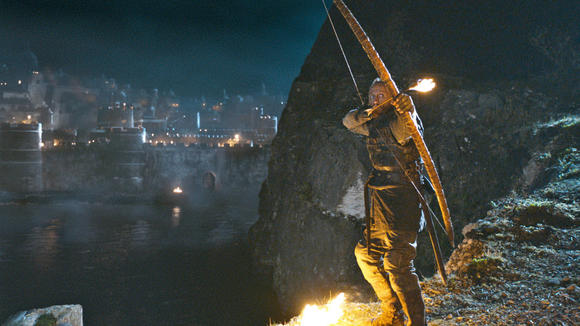 Bronn + flaming arrows = great TV