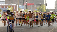 "Hundreds of runners and walkers spent their holiday weekend getting their ""Rears in Gear."" The annual Get Your Rear in Gear 5K run/walk raises funds and awareness for colon cancer education, screening and education."