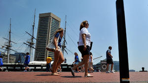 'Major piece' of Inner Harbor promenade to be upgraded