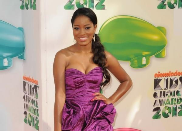Actress Keke Palmer attends Nickelodeon's Kids' Choice Awards at Galen Center March 31, 2012 in Los Angeles.