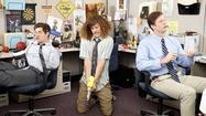 "Three seasons in, you'd think the lovable stoner bros from Comedy Central's ""Workaholics"" would have defiled every pillar of professionalism at TeleAmericorp, not to mention done every drug there is."