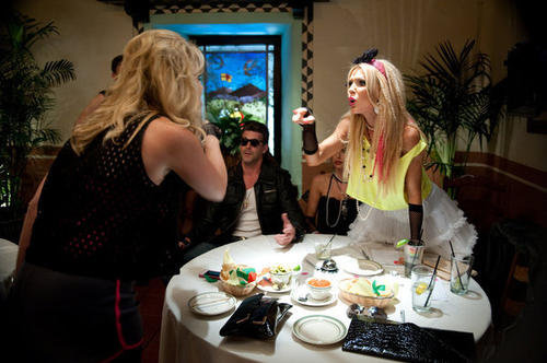 Tamra's 80's themed Bunco Party brought more drama than fun. Tamra thought it would be funny to surprise the girls with their significant others but Vicki wasn't too thrilled to see Slade (Gretchen's boyfriend). Gretchen confronts Vicki about Brooks' (her boyfriend) past issues with child support since Vicki always criticized Slade for being behind on his. Vicki goes on the offensive and says that Gretchen can't relate because she doesn't have children. All the while they are yelling so loudly at each other that Gretchen loses her voice for the next couple of weeks.