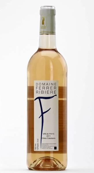 """2011 Domaine Ferrer Ribière """"F"""" Rosé"""