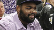 Who knew Michael Oher was a big NASCAR fan?