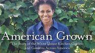 First lady Michelle Obama makes her literary debut Tuesday with a book about the White House garden, an idea born in her Chicago kitchen.