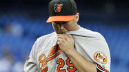 Hunter rocked in Orioles' 6-2 loss to Blue Jays