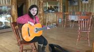 Samantha Koenig's Guitar Given Away in Mendeltna