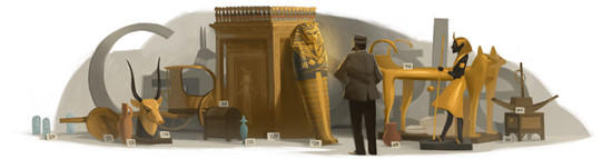 "Howard Carter, a real-life Indiana Jones, discovered King Tut's tomb. <br><b>More: </b><a href=""http://www.latimes.com/news/nation/nationnow/la-na-nn-howard-carter-google-doodle-20120509,0,4946041.story"" target=""_blank"">Critics call Howard Carter a plunderer</a>"