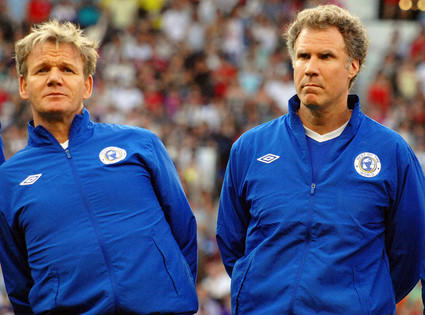 Injury Time: Gordon Ramsay and Will Ferrell Hurt in Charity Soccer Match