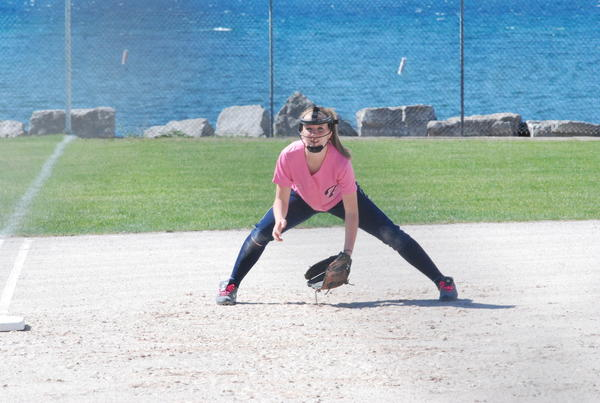 Petoskey junior third baseman Emily Kent and the Northmen will face Escanaba in a Division II district semifinal at noon Saturday, June 2, at Sault Ste. Marie.