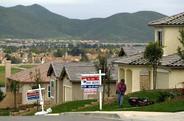 Home prices in 20 major U.S. cities are down 2.6% in March compared to a year earlier, according to the Case Shiller index.