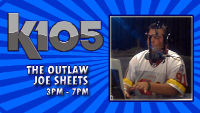 The Outlaw Joe Sheets 3pm - 7pm