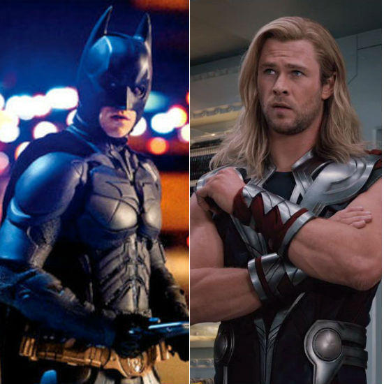 The Avengers vs. The Dark Knight: Batman's Going Down!