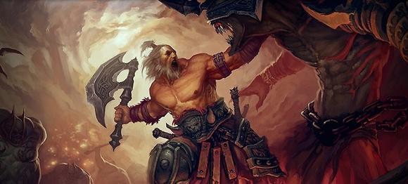 Angry barbarian
