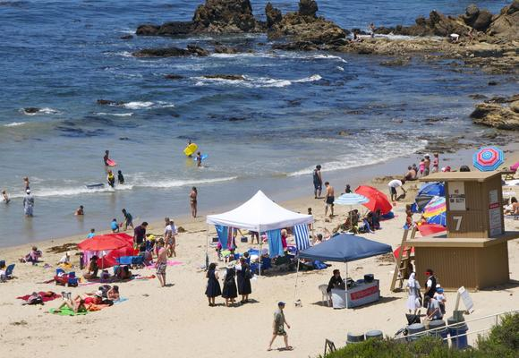 Thousands flocked to the beach over Memorial Day weekend.