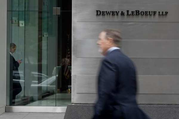 Law firm Dewey & LeBoeuf files for Chapter 11