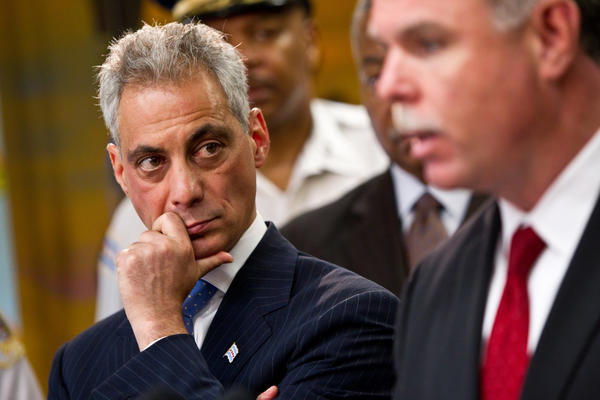 Mayor Rahm Emanuel and CPD Superintendent Garry MaCarthy annouce new crime reduction strategies to tackle gang violence and reduce crime and violence in Chicago's neighborhoods.