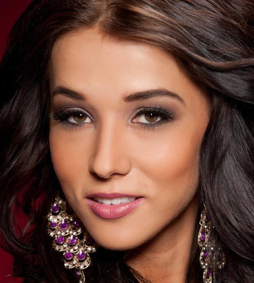 Miss USA 2012: Evening gown pics: Erna Palic, Miss Idaho