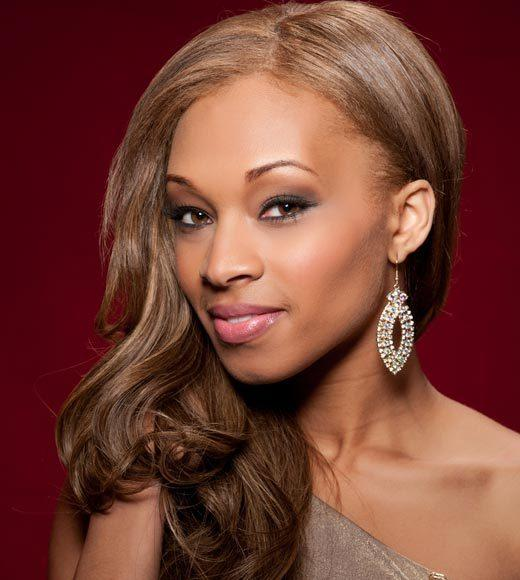 Miss USA 2012: Evening gown pics: Monique LaShone Thompkins, Miss District of Columbia