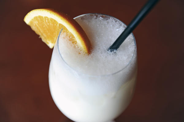The Ramos Gin Fizz at Langermann's in Canton.