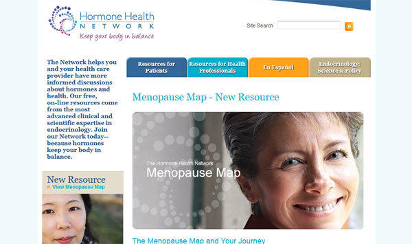 A new website helps women explore menopause treatments and make lists of questions to ask their doctors.