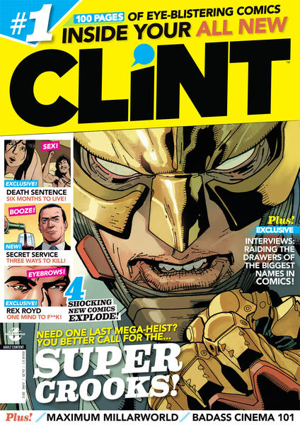 CLiNT 2.0 Cover (Titan Magazines)