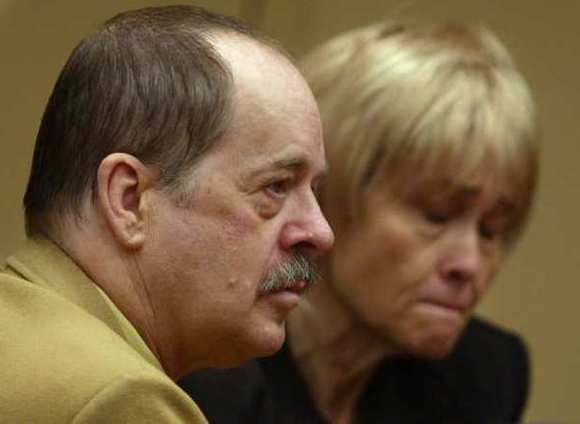 James Crummel listens to the jury deliver its death verdict in 2004. (Irfan Khan | Los Angeles Times / May 29, 2012)