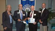Stephen Taylor of Winchester was inducted into the Glenville State College Curtis Elam Athletic Hall of Fame earlier this month.