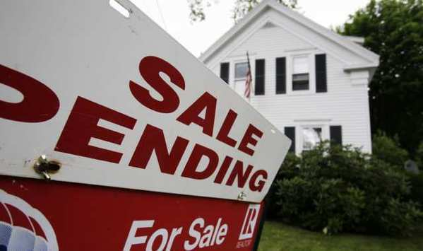 Pending home sales fell in April compared with the previous month, but were up year-over-year.