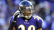 Ravens cornerback Cary Williams attended Wednesday's organized team activity, marking the second straight week he has been on hand for the voluntary workouts. His presence was notable because he is recovering from offseason hip surgery and also because of his clouded contract situation.