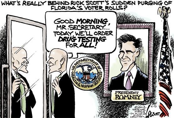 Gov. Rick Scott's voter purge