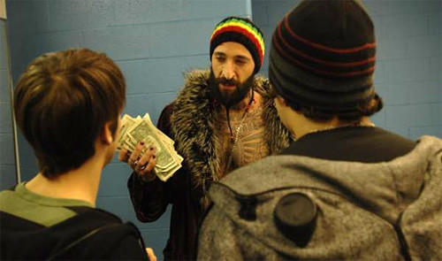 "Adrien Brody stars in ""High School."""