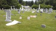 Gravestones damaged in Aberdeen cemetery include those of late Sen. James and his wife